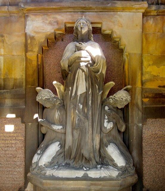 """Faith"" (the John Houldsworth Mausoleum)"