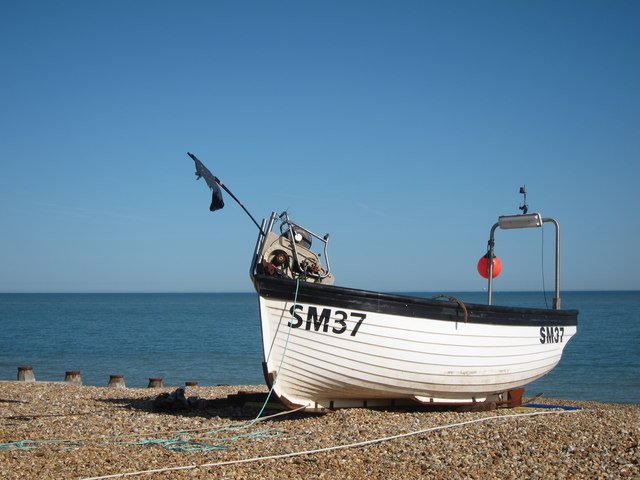 SM37 at Eastbourne Beach