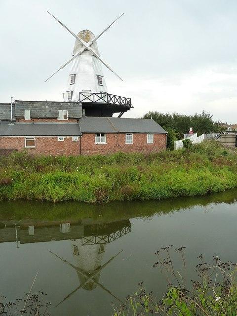 Gibbet windmill, Rye