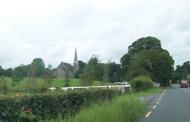 St Laebhans Church, Killeevan , County Monaghan