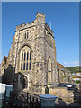 TQ8209 : Tower of St Clement's church by Stephen Craven