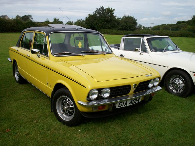 Triumph Dolomite Sprint and a Stag