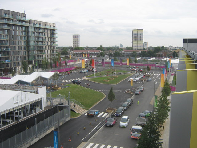 Athletes Village Entrance, Olympic Park
