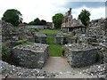 TR1557 : St Augustine's Abbey - Saxon crypt by Rob Farrow