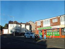 SO9096 : Birchwood Road Shops by Gordon Griffiths