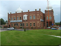 SJ9400 : Wednesfield Gurdwara by Gordon Griffiths