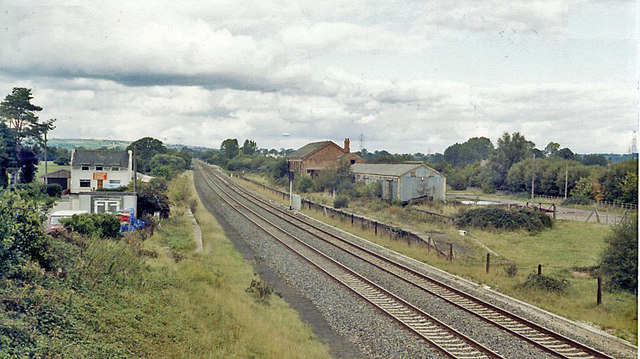 Site of Cullompton station