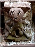 SO4430 : Sheela Na Gig at Kilpeck church by Zorba the Geek