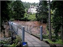 NU0702 : Iron Bridge, below Cragside by Chris Morgan