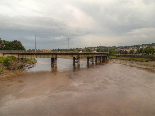 Lancaster, River Lune and Greyhound Bridge