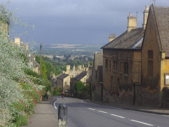 View across The Cotswolds from Bourton on the Hill