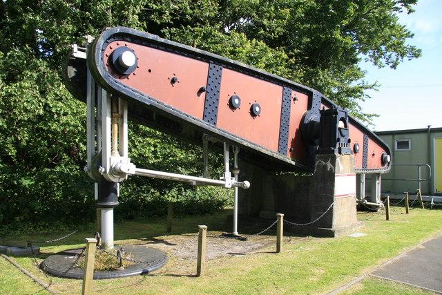 Swansea Museum - beam from Cornish beam engine