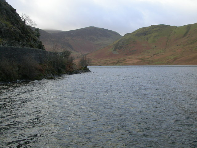 Crummock Water and Hause Point