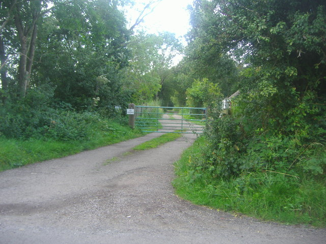 Gate to Wolford Wood