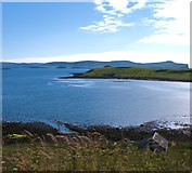 NG2260 : Across Ardmore Bay by Gordon Hatton