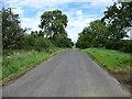 NY4337 : The lane past the Skelton Transmitting Station by David Purchase