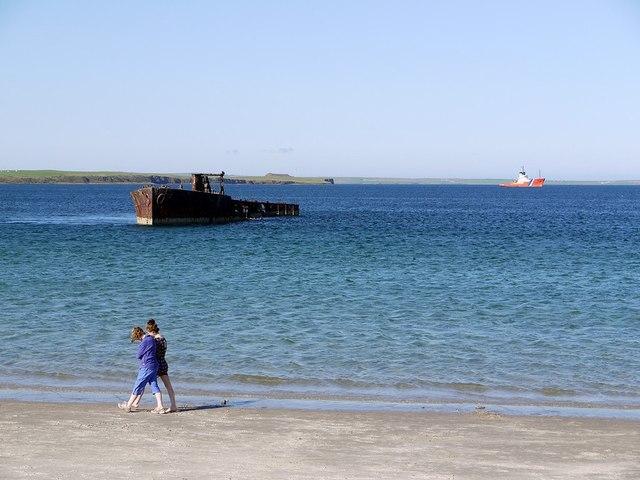 Wreck, Inganess Bay