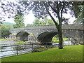 SN9584 : Long Bridge, Llanidloes by John Lord