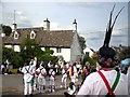 SP3616 : Morris Dancing in Finstock by Des Blenkinsopp
