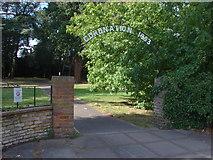 TQ0464 : St Paul's graveyard entrance by Alan Hunt