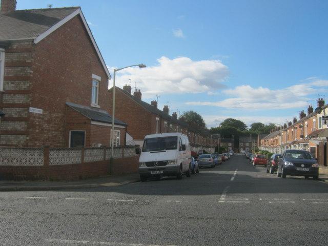 Olympic Street in Darlington