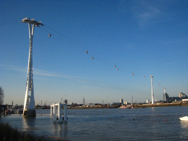 The Emirates Air-Line cable car line