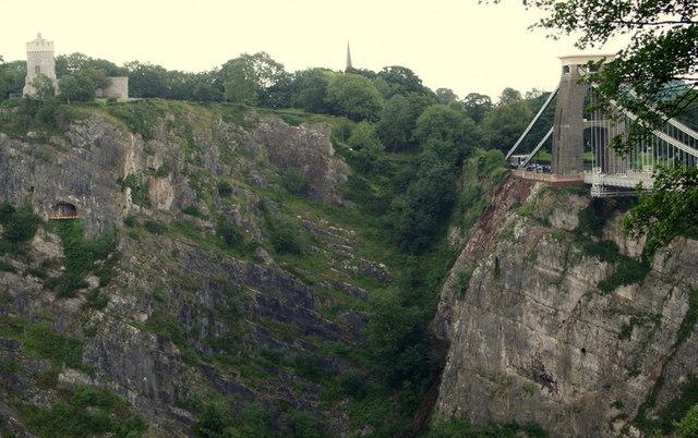 Clifton Suspension Bridge Area - B8