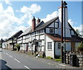 SO3858 : Black and white cottages, West Street, Pembridge by Jaggery