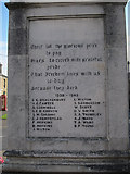 TL4567 : Cottenham War Memorial by Hugh Venables