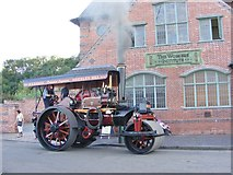 SO9491 : Steam Up at the Institute by Gordon Griffiths