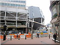 SP0686 : Work Progressing on New Entrance to New Street Station by Roy Hughes