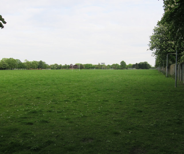 Rugby pitches, Oakington
