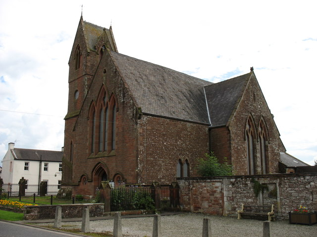 Hoddom Parish church, Ecclefecham