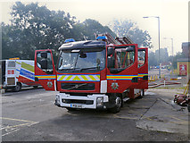 SD7807 : PO11  AVC, GMFRS Volvo Fire Engine by David Dixon