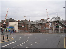 TA2609 : Wellowgate level crossing, Grimsby by Jonathan Thacker