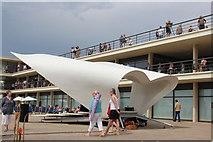 TQ7407 : Bandstand at De La Warr Pavilion by Oast House Archive