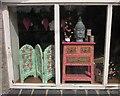 SX7862 : Shop window, Dartington by Derek Harper