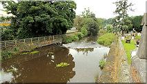 J2053 : The River Lagan, Dromore (1) by Albert Bridge