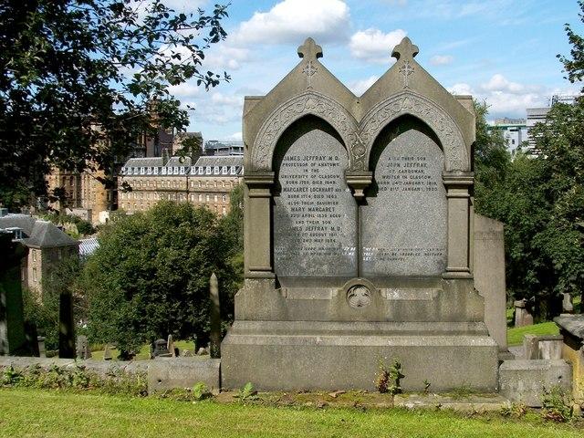 Memorial to James Jeffray