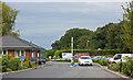SD5018 : The entrance to the Royal Umpire caravan park by Ian Greig