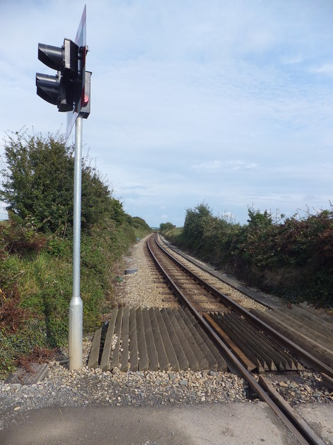 IOMSR line at Colby FC level crossing