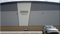 SJ7996 : Adidas Group Distribution Centre, Trafford Park by Steven Haslington