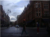 TQ2880 : Mount Street crossing South Audley Street by David Howard