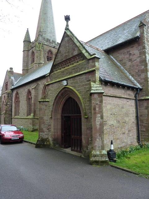 St George's Church, Millom, Porch