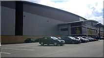 SJ7996 : Adidas Group Distribution Centre at Trafford Park by Steven Haslington