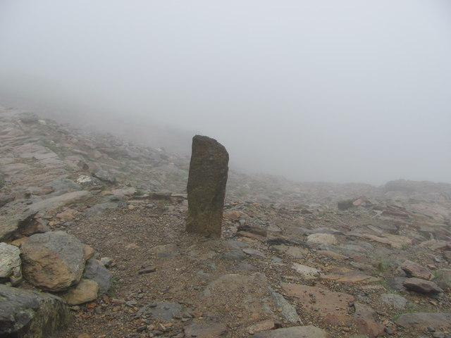 Junction of Pyg Track/Miners' Track