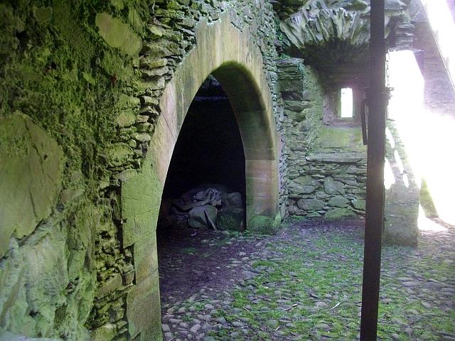 Sorbie Tower interior