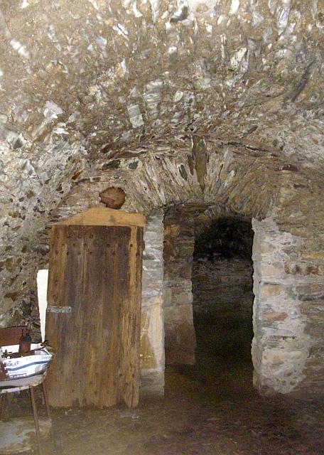 Sorbie Tower cellars