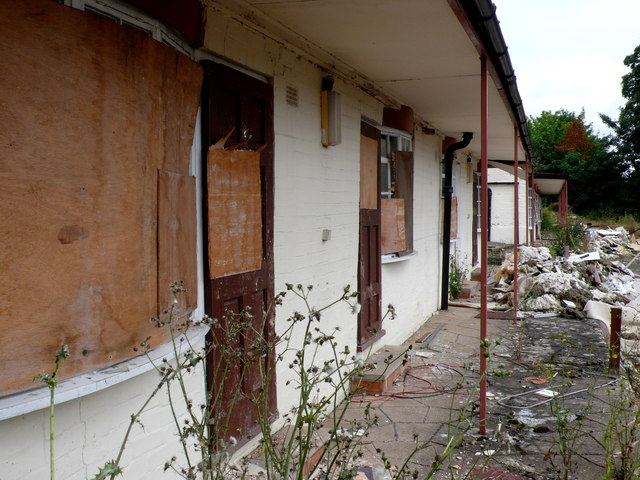 Derelict Accommodation Woodhouse Hotel
