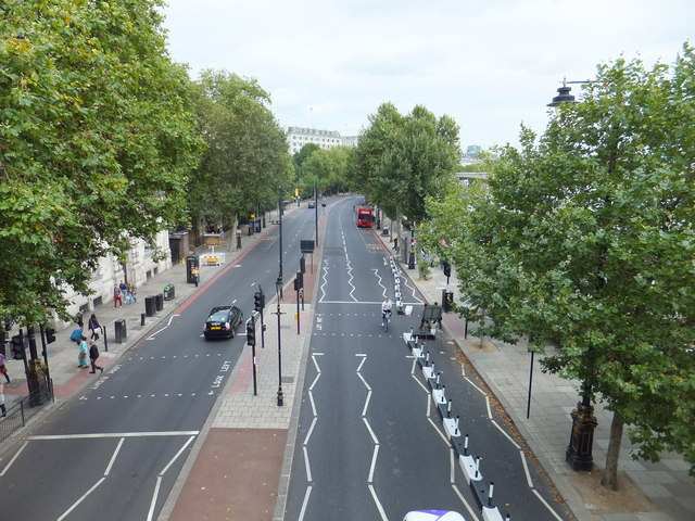 Victoria Embankment London C Paul Farmer Geograph Britain And
